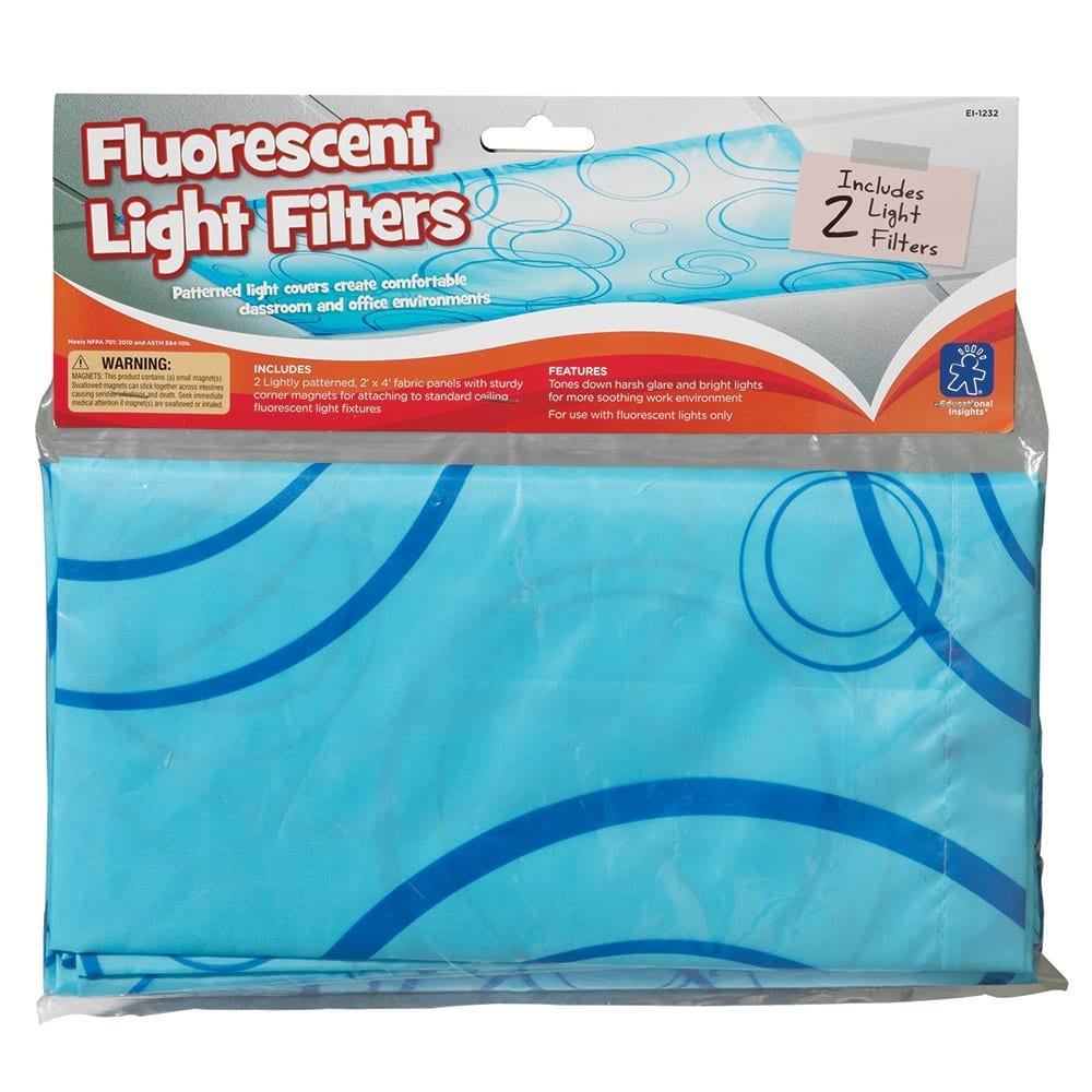 Fluorescent Light Filters: Fluorescent Light Filters With Patterns