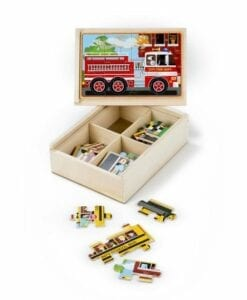 Vehicle Jigsaw Puzzles in a Box