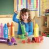 Rainbow Sorting Crayons 4